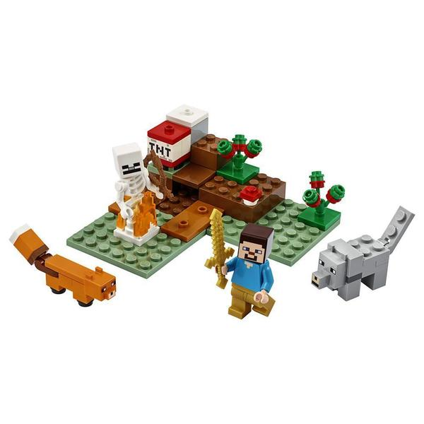 21162 - LEGO® Minecraft aventures dans la taïga