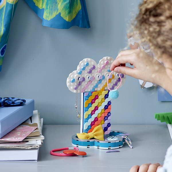 41905 - LEGO® DOTS - Le porte-bijoux arc-en-ciel
