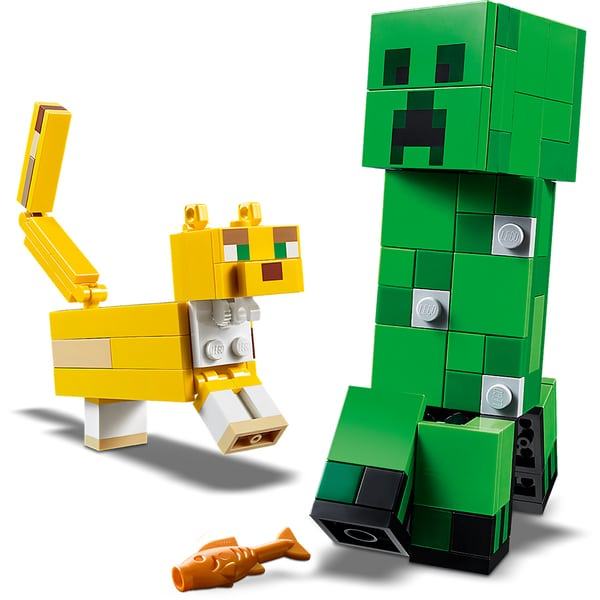 21156 - LEGO® Minecraft Bigfigurine Creeper et ocelot
