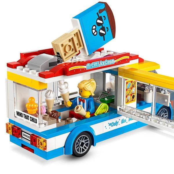 60253 - LEGO® City le camion de crème glacée
