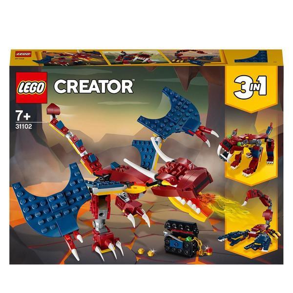 31102 - LEGO® Creator le dragon de feu