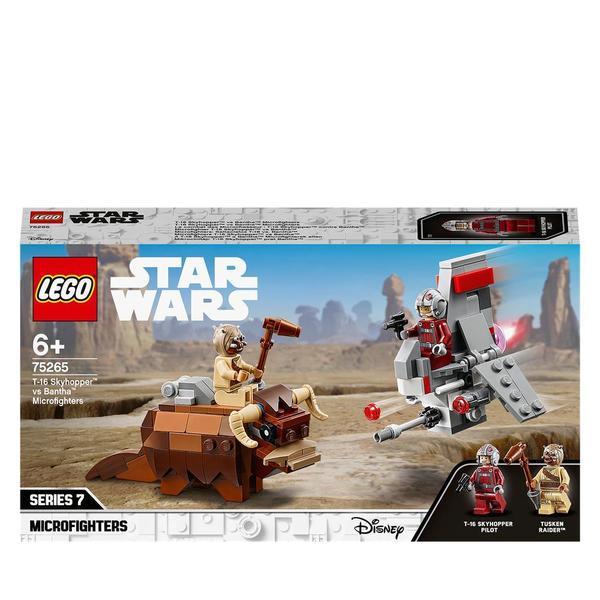 75265-LEGO® Star Wars Le combat des Microfighters : T-16 Skyhopper contre Bantha