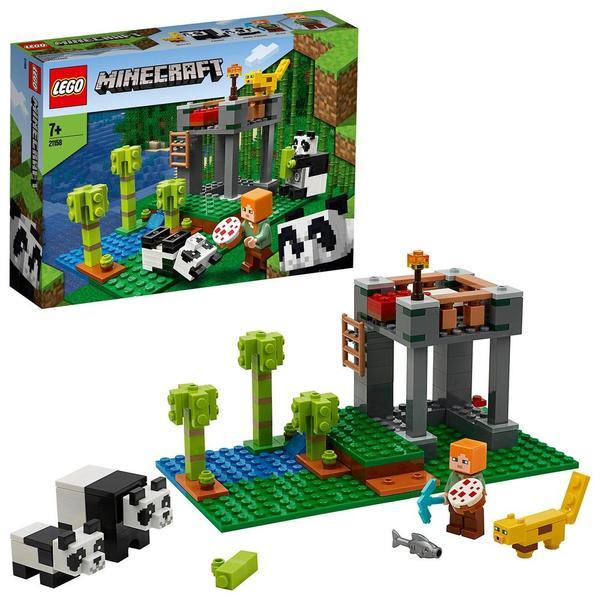 21158 - LEGO® Minecraft la garderie des pandas