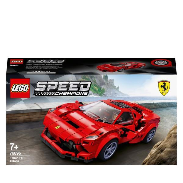 76895 - LEGO® Speed Champions Ferrari F8 Tributo