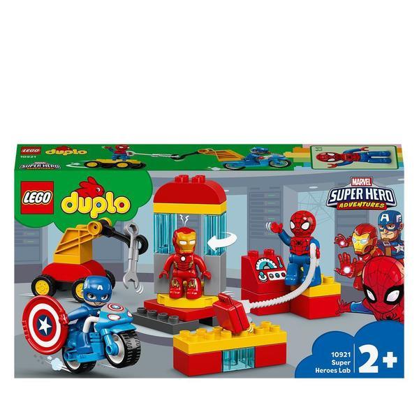 10921-LEGO® DUPLO Marvel Super Heroes - Le labo des super-héros