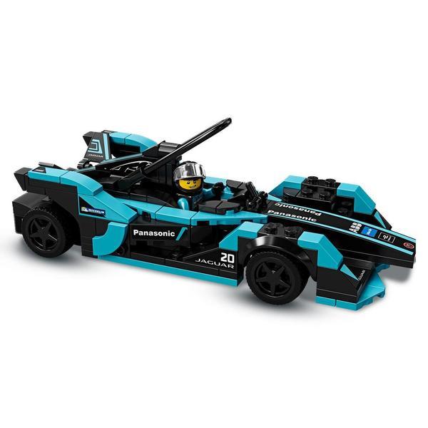 76898 - LEGO® Speed Champions Formula E Panasonic Jaguar Racing GEN2 et Jaguar I-PACE eTROPHY