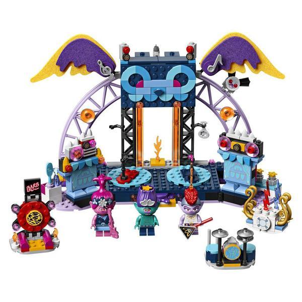 41254 - LEGO® Trolls World Tour - Le concert de Vulcarock City