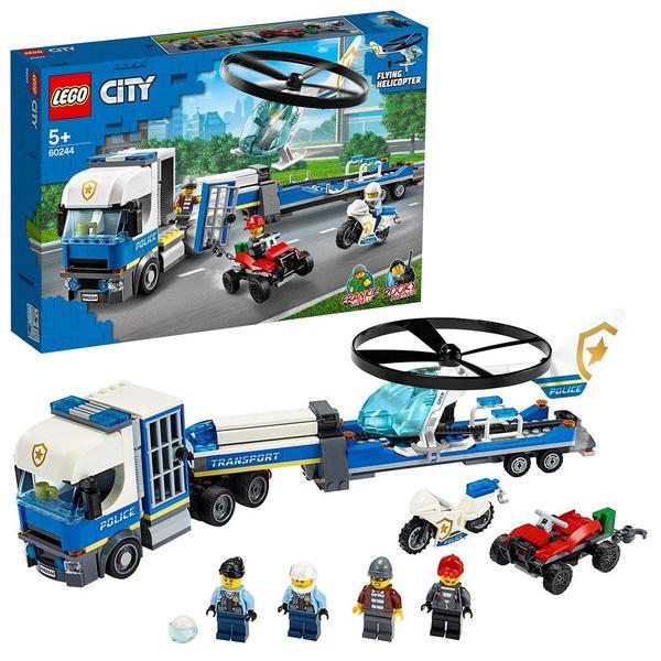 60244 - LEGO City le transport de l'hélicoptère de la police