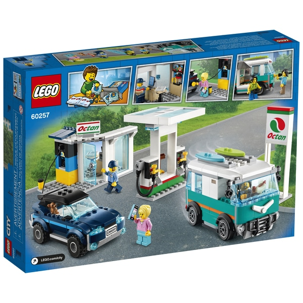 60257 - LEGO® City la station-service