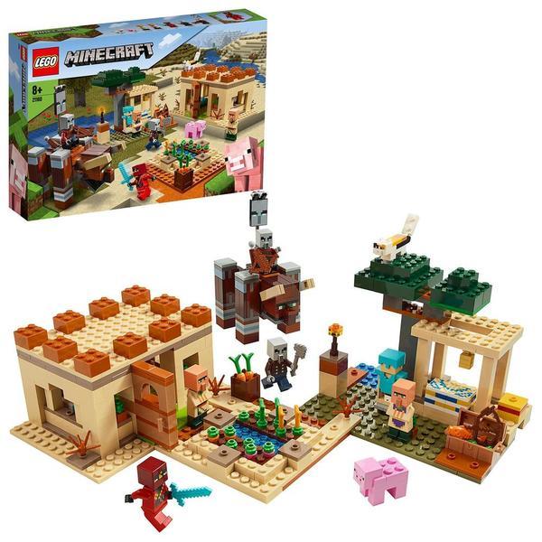 21160 - LEGO® Minecraft l'attaque des illageois