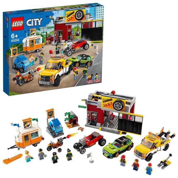 60258 - LEGO® City l'atelier de personnalisation