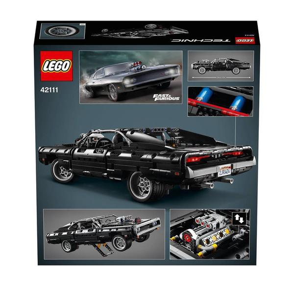 42111 - LEGO® Technic - La Dodge Charger de Dom Fast and Furious