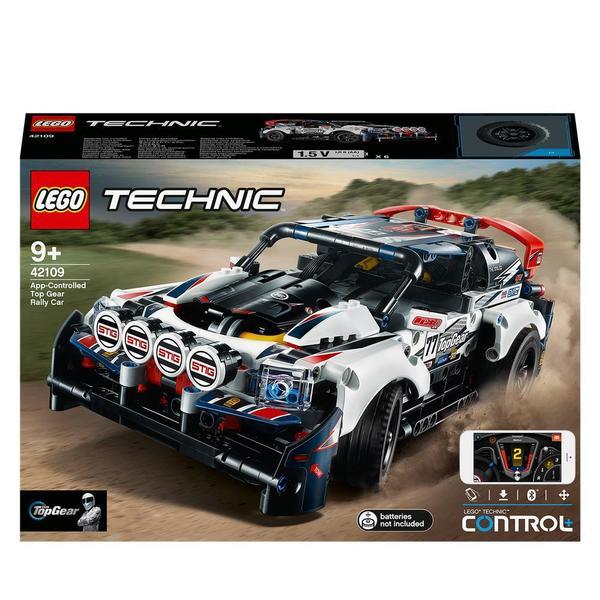 42109 - LEGO® Technic la voiture de rallye Top Gear télécommandée par application