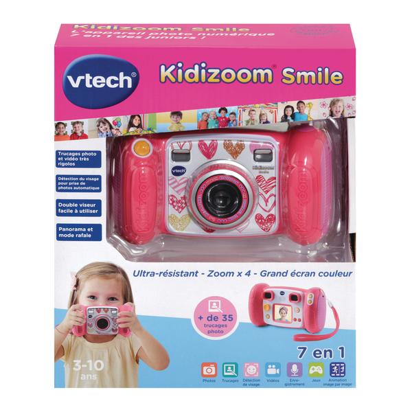 Appareil photo Kidizoom Smile rose