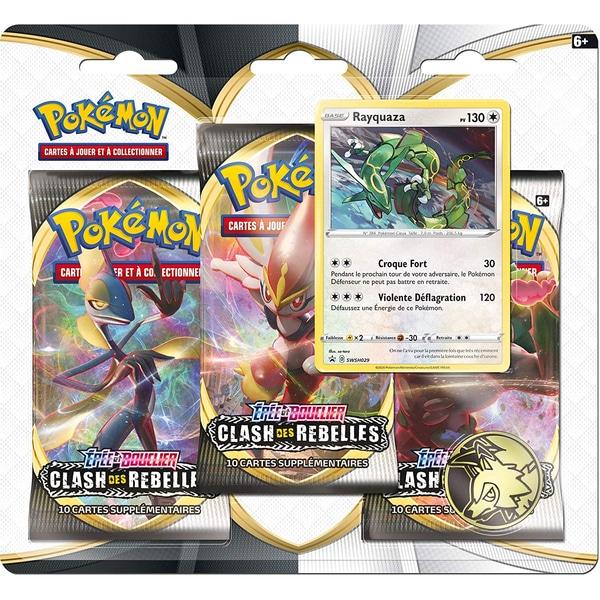 Pack 3 boosters Pokémon Épée et Bouclier 2