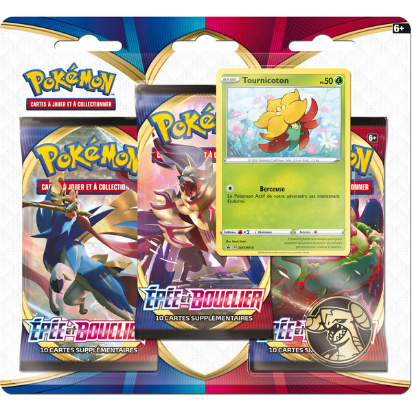Pack 3 boosters Pokémon Day