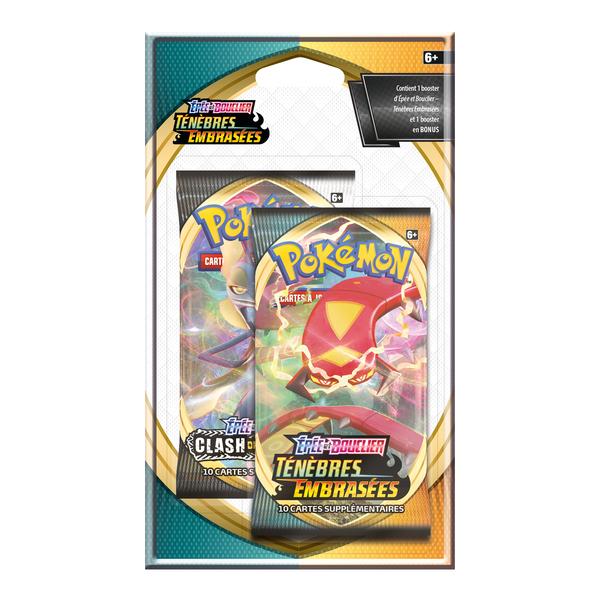 Boosters blister Pokémon - Ténèbres embrasées