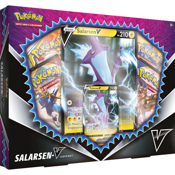 Coffret Pokémon Salarsen-V 4 boosters
