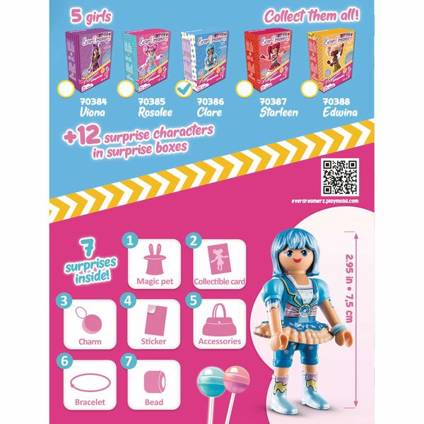 70386 - Playmobil Everdreamerz - Clare