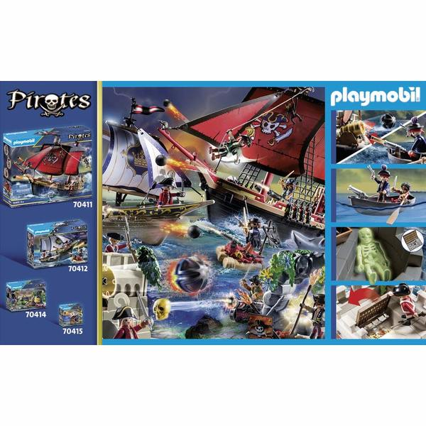 70413 - Playmobil Pirates - Bastion des soldats