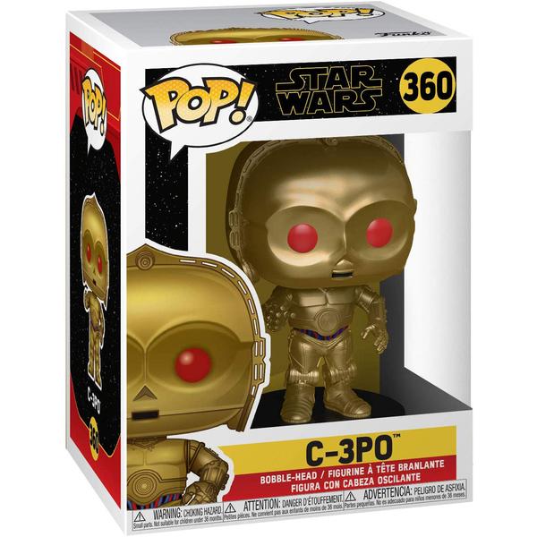 Figurine C-3PO 360 Star Wars 9 Funko Pop