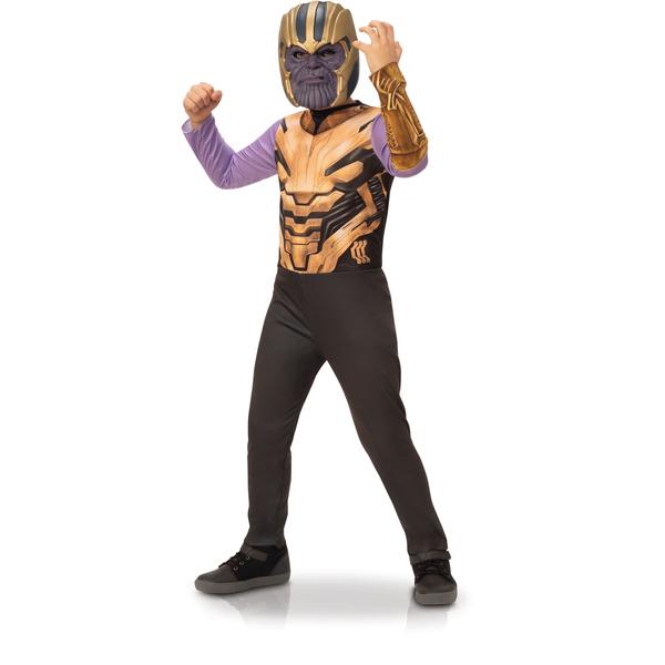 Déguisement Thanos classique avec masque 7-8 ans - Avengers Endgame