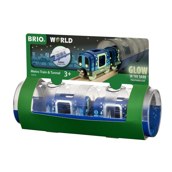 33970 - Brio World - Métro et tunnel phosphorescents