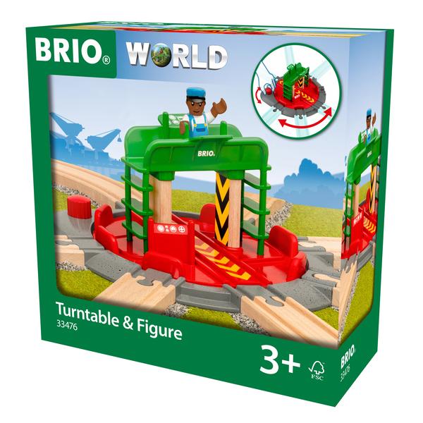 33476 - Brio World - Plaque tournante et personnage