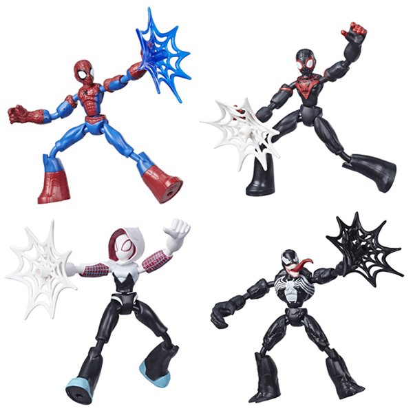 Figurine 15 cm Bend and Flex - Spiderman