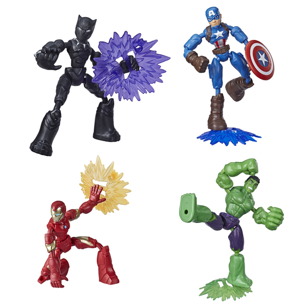 Figurine 15 cm Bend and Flex - Marvel Avengers