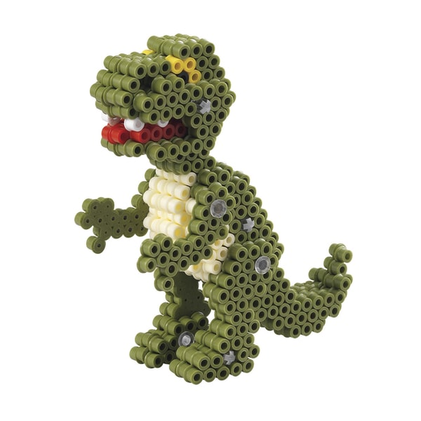 Perles à repasser dinosaures 3D