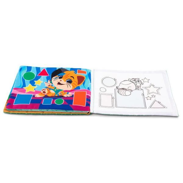 Livre de coloriage marqueur magique 44 chats Éclair