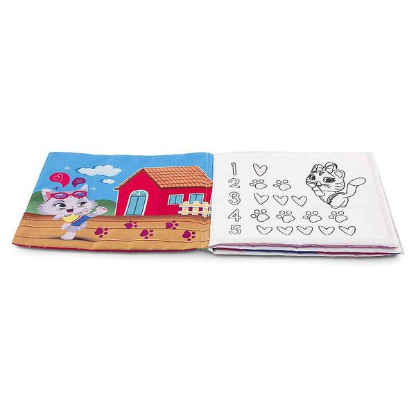 Livre de coloriage marqueur magique 44 chats Milady