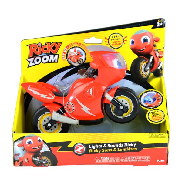 Ricky Zoom moto sons et lumières