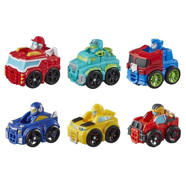Robots mini-bolides Rescue Bots Academy 5 cm - Transformers