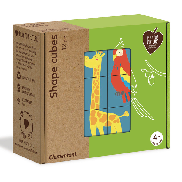 Puzzles Shapes Cubes animaux