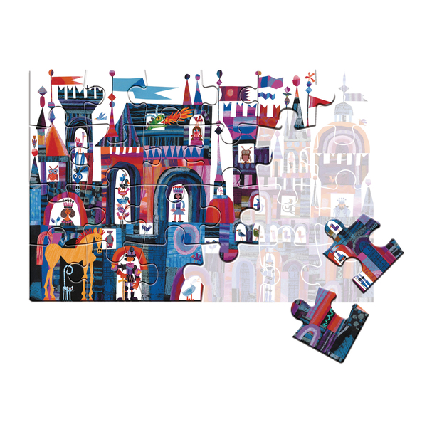 Puzzle 24 pièces My Puzzle château - Play For Future