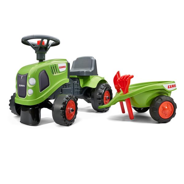 Tracteur Baby Claas avec remorque