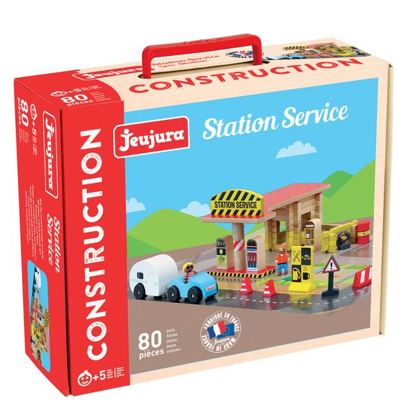 La station service en bois 80 pièces