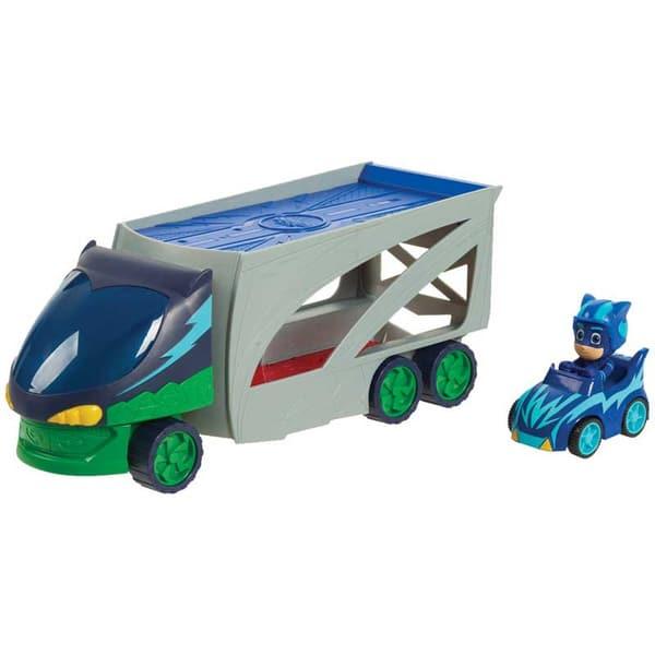 Camion transporteur avec véhicule Pyjamasques