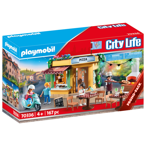 70336 - Playmobil City Life - Pizzeria avec terrasse