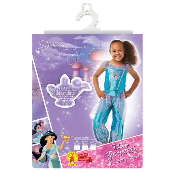 Déguisement Jasmine 7-8 ans - Disney Princesses