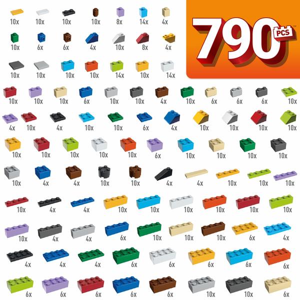 Baril 790 blocs de construction