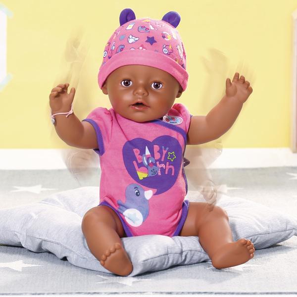 Poupon interactif Baby Born 43 cm yeux marrons