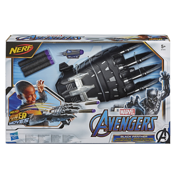Griffe Black Panther Nerf Power Moves - Avengers
