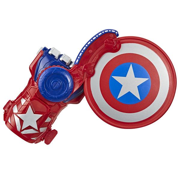 Lanceur de bouclier Captain America Nerf Power Moves - Avengers