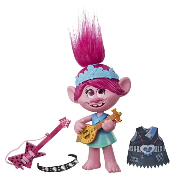 Poupée musicale Poppy Pop et Rock - Trolls