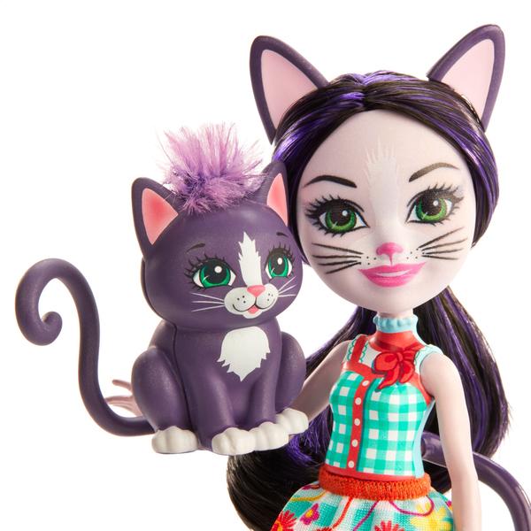 Poupée Enchantimals - Ciesta chat et Climber