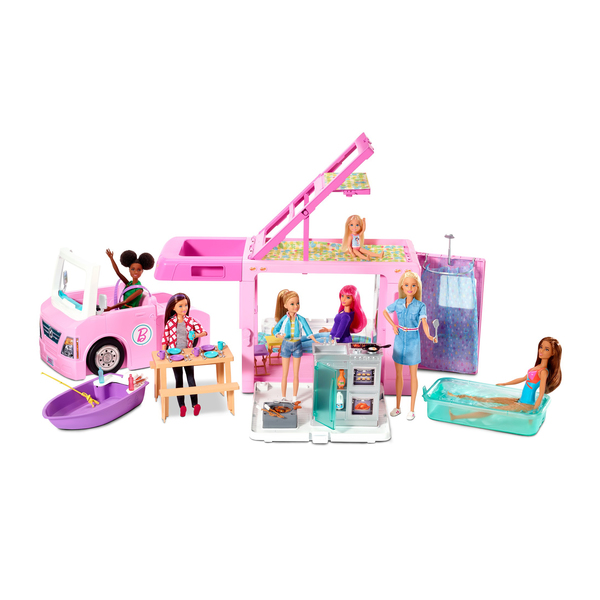Camping-Car de rêve 3 en 1 Barbie