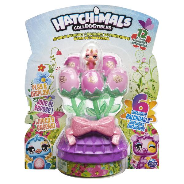 Bouquet de printemps Hatchimals